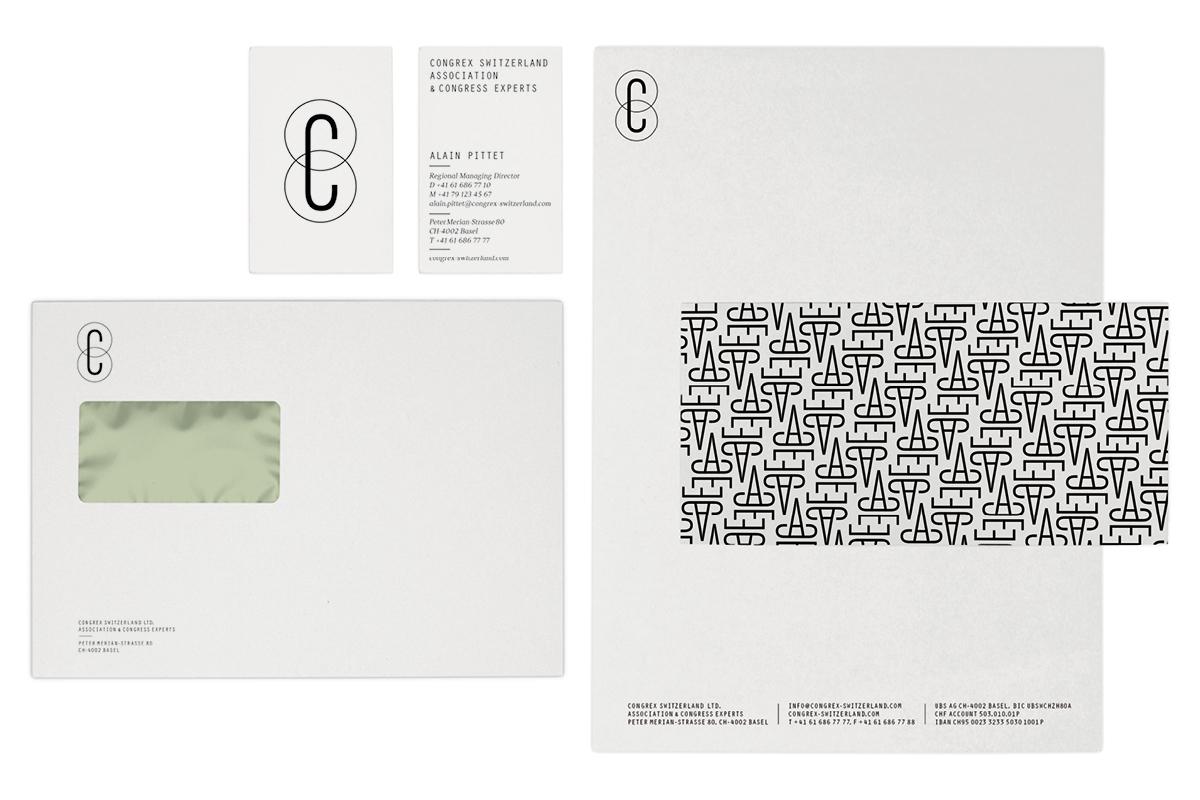 corporate design for congrex switzerland basel