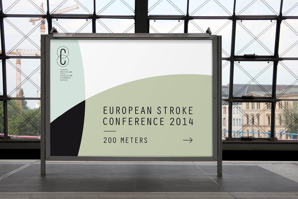 poster design for congrex switzerland basel