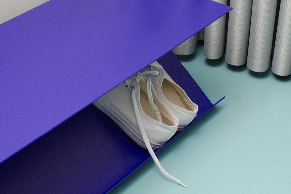 furniture design of a shoe rack