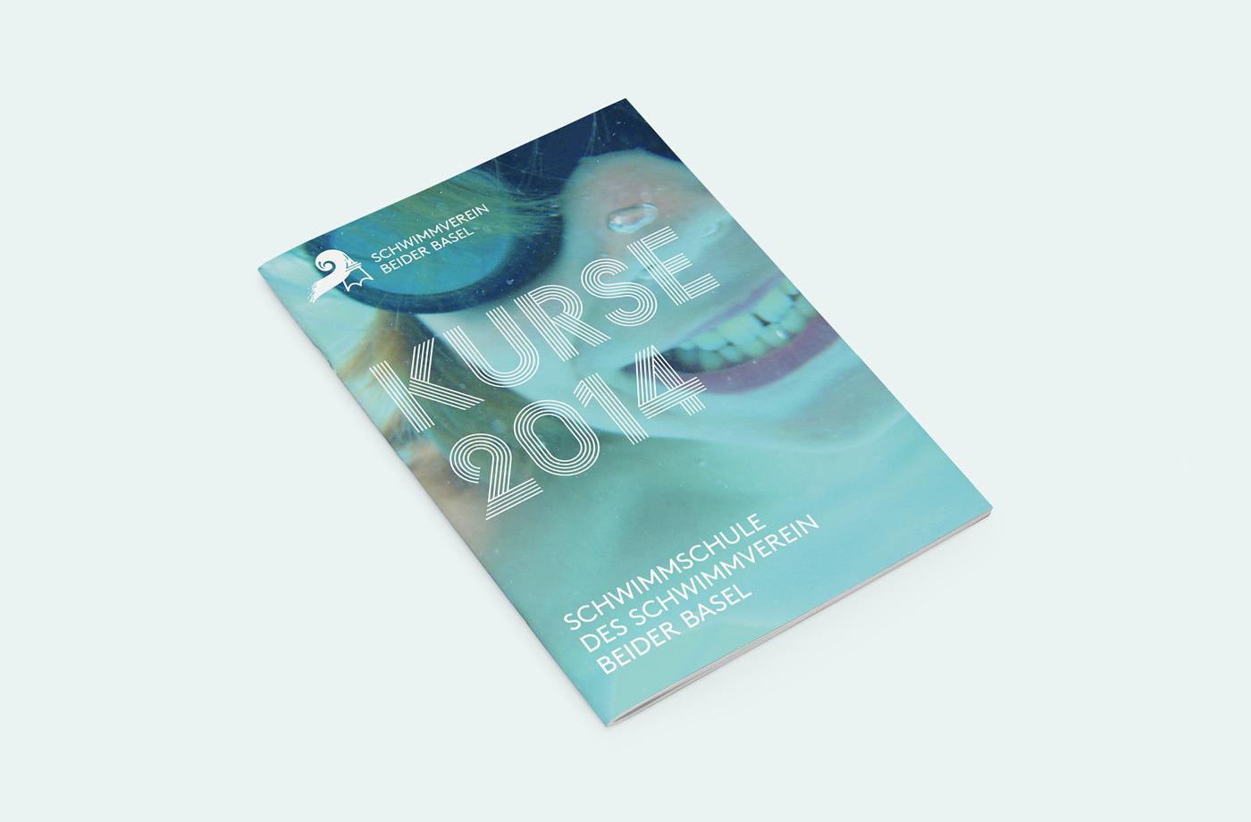 corporate design for schwimmverein beider basel