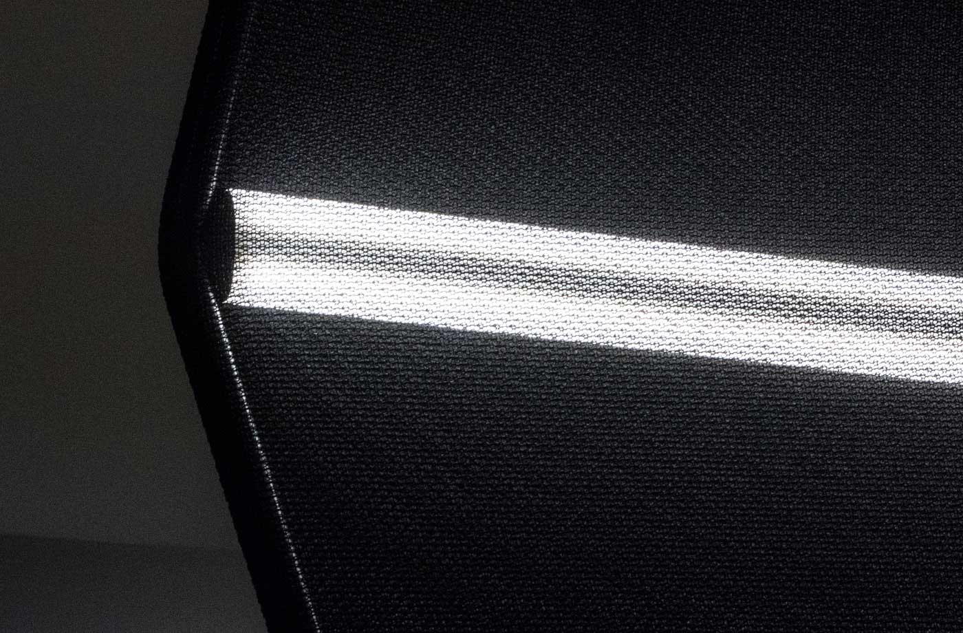 detail of the big scale led lamp