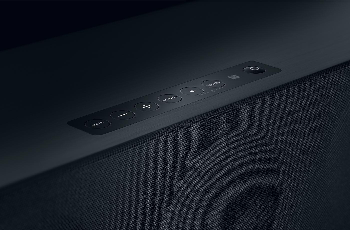 interaction design of the ambeo soundbar