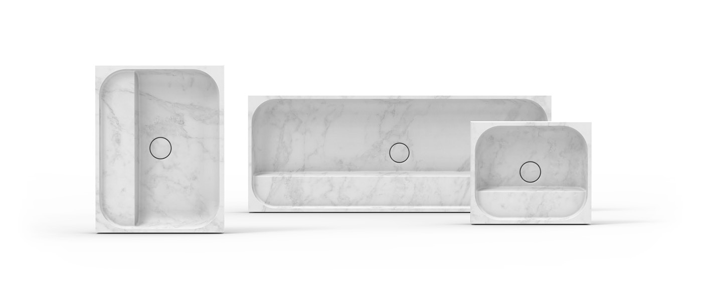 design of a product family of wash basins