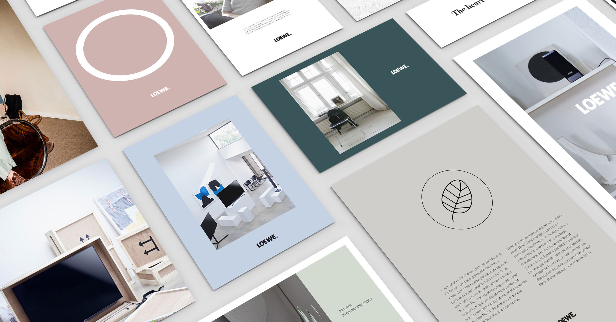 brand design for loewe television
