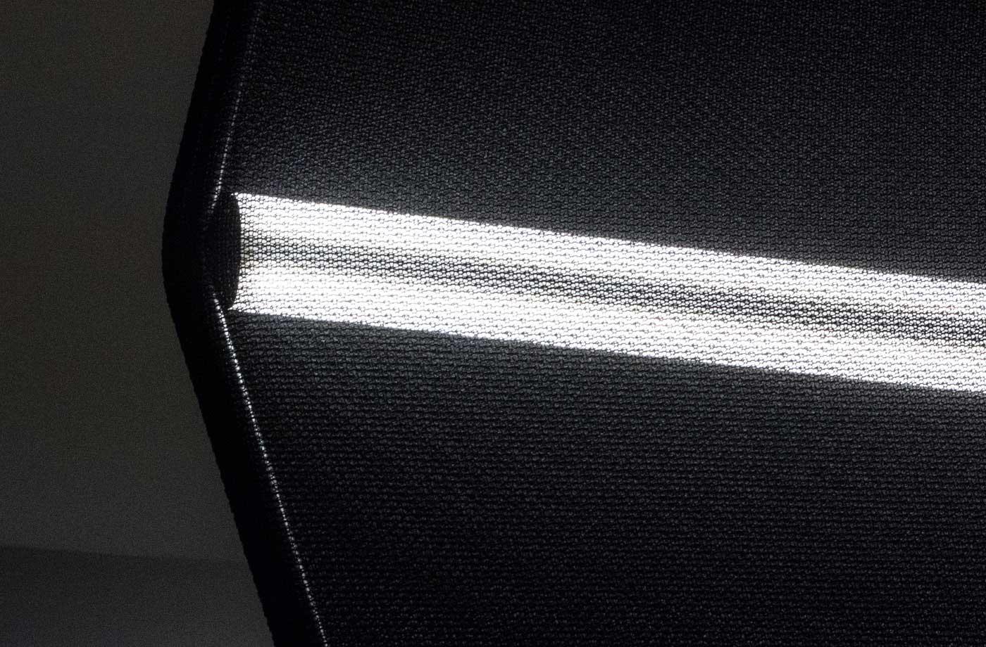 3d gestrickte leuchte für belux / kreon