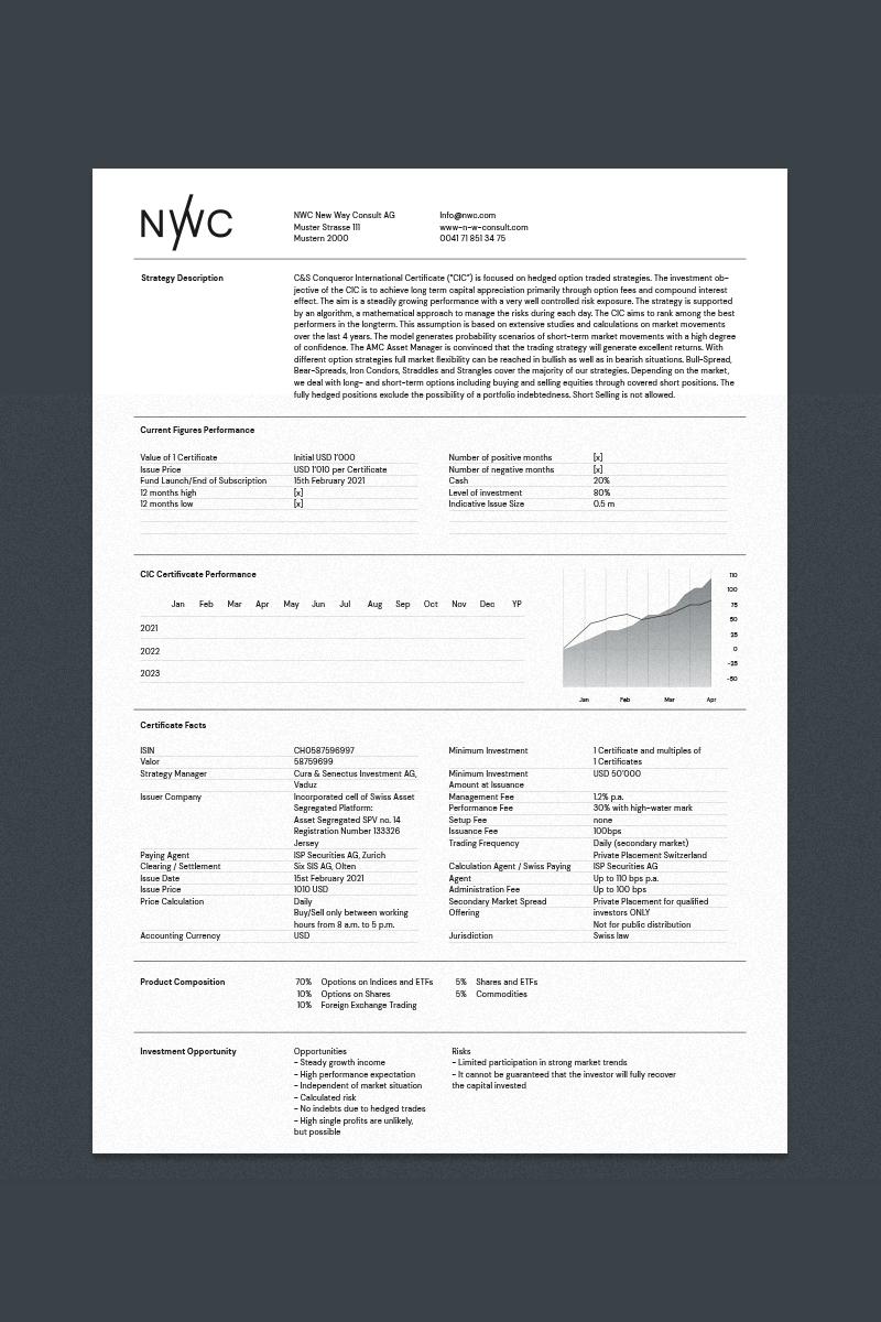 layout design für nwc